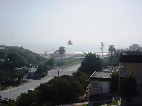 Moonlight Beach Motel: Blick zum Beach vom Zimmer