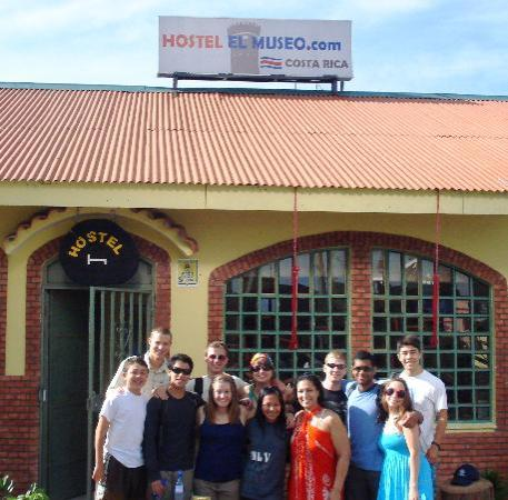 Hostel el Museo: One of the groups we had! ILS