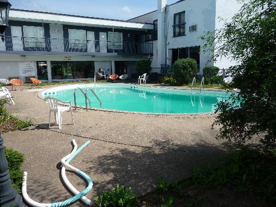 CJS Inn: piscine