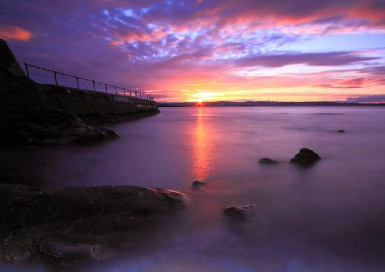Redlands Guest House: Beautiful sunsets at Brixham