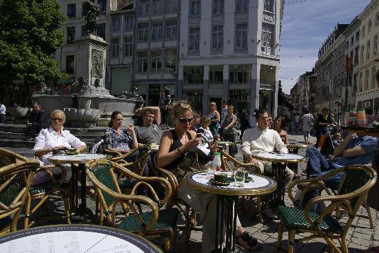 Liège, Belgique : Café