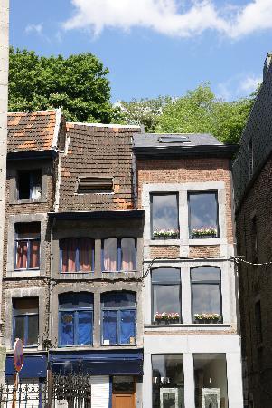 Liege, Belgium: Häuserreihe