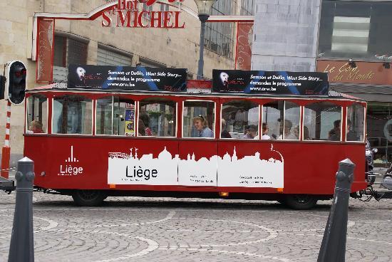 Liegi, Belgio: Touristenbus
