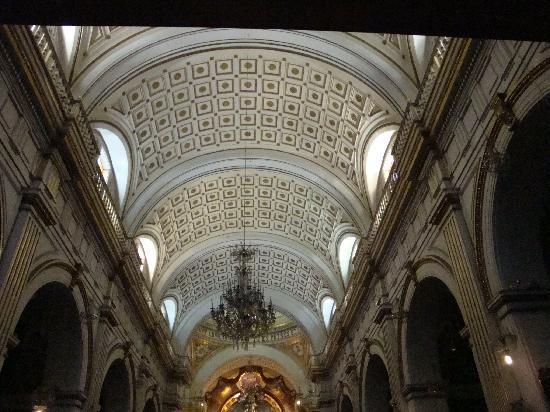San Pedro Church (Iglesia de San Pedro): 天井