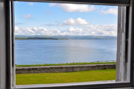 Allt-Na-Craig: The view from our bedroom window