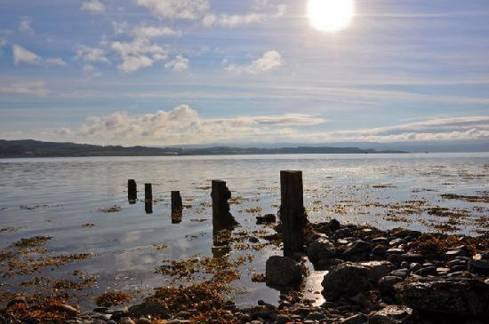 Allt-Na-Craig: Loch Fyne on one of the mornings