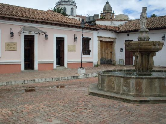 Tunja, Colombia: Plazoleta de la Pila del Mono