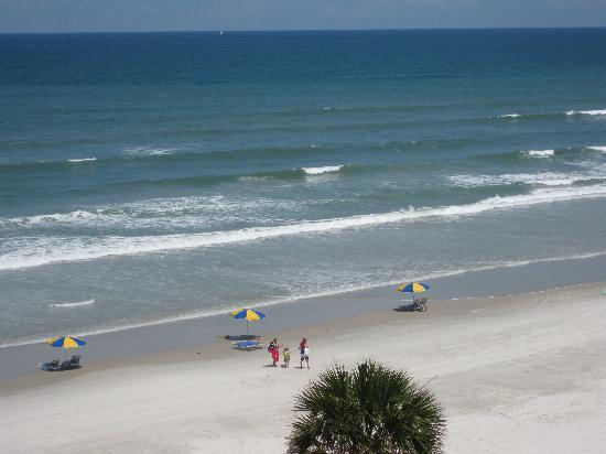 Holiday Inn Hotel & Suites Daytona Beach: Ausblick vom Balkon
