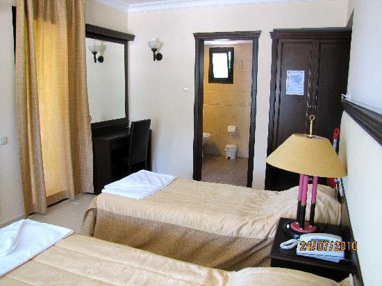 Hotel Chateau de Ville : Room