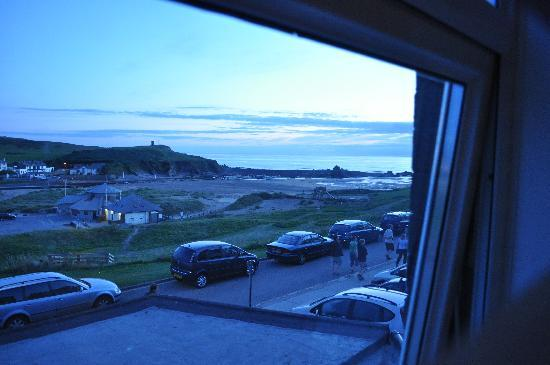 The Edgcumbe: actual view through glass