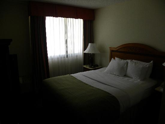 Holiday Inn Port St. Lucie: Bedroom has been upgraded, comfortable, quiet.