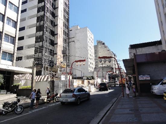 Nikkey Palace Hotel: 東洋人街に面して便利