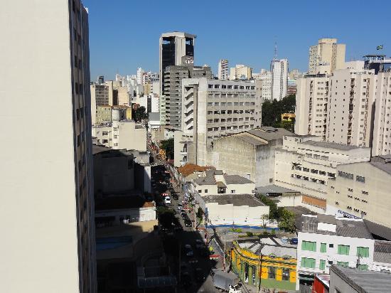 Nikkey Palace Hotel: 部屋の窓からの眺め