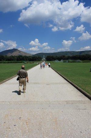 Reggia di Caserta: The long, long walk