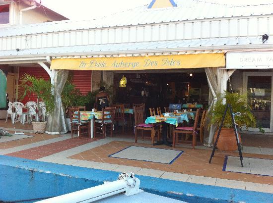 Calypso Dinner Cruise: Dinner at Marigot