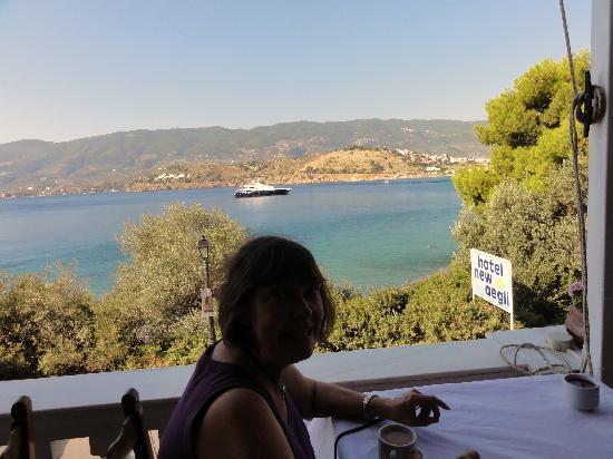 New Aegli Resort Hotel: Breakfast at the New Aegli