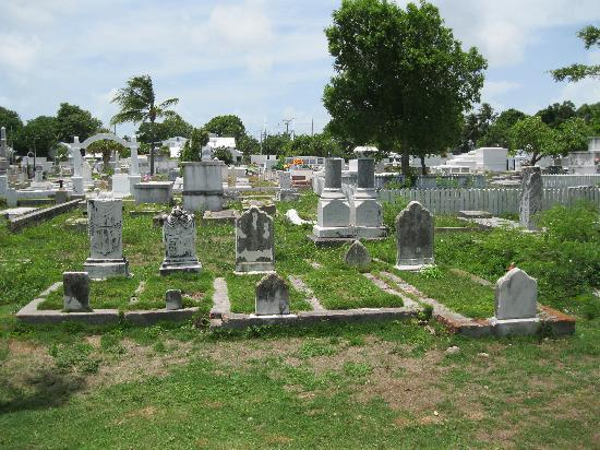 Key West Cemetery: view of cemetery