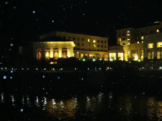 Lavasa, India: view of fortune hotel night