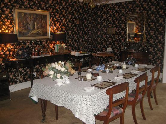 Marben Manor Guest House : Great Dining Room