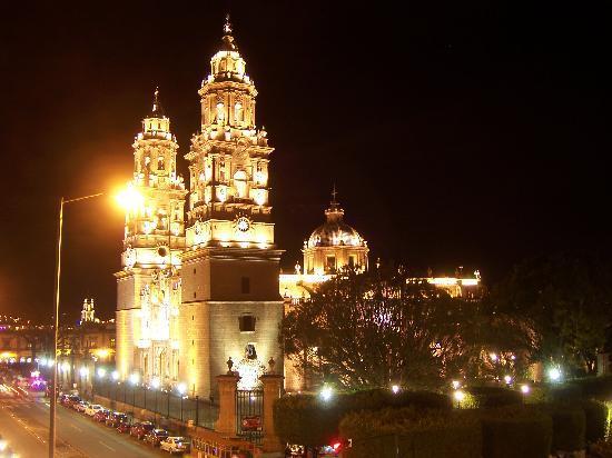 Mision Catedral Morelia : Ausblick aus dem Zimmer1