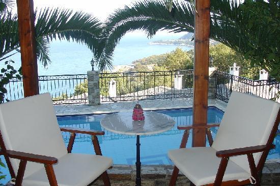 Pelion Country Villas-Theodorides Estate: Pool View