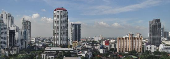 Somerset Sukhumvit Thonglor Bangkok: View from apartment