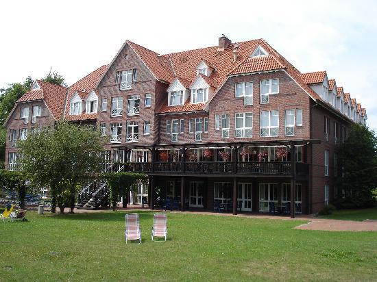 Neustrelitz, Alemanha: Gartenseite