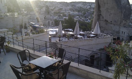 Vezir Cave Suites : View from the Hotel