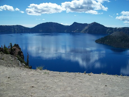 Crater Lake National Park, OR: crater lake from the rim