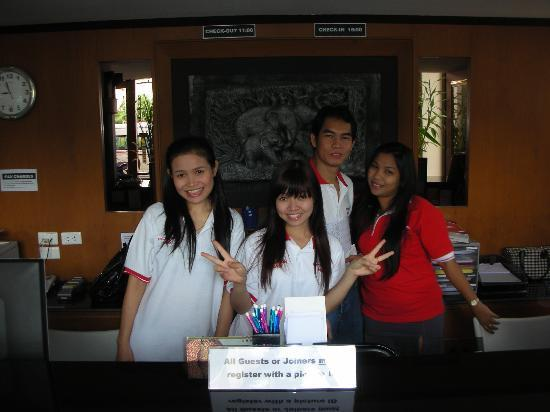 Pattaya Bay Resort: The friendly staff.