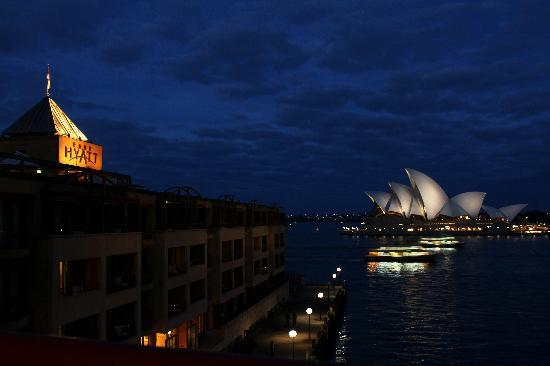 Park Hyatt Sydney: View from our balcony - Opera View Room, Sydney Park Hyatt
