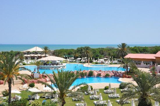 Regency Tunis Hotel: Vue générale de l'hotel