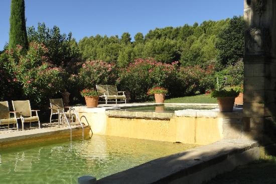 Chateau Talaud: The pool
