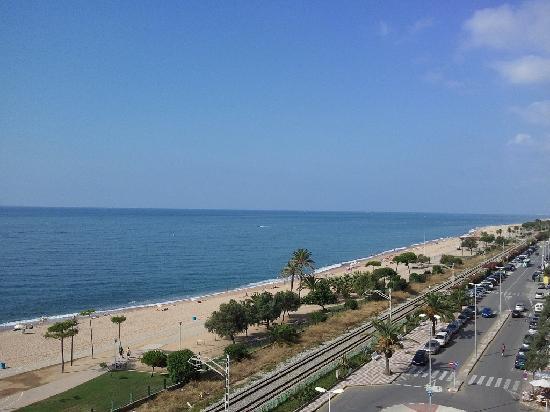 Sorrabona Hotel: View from the balcony on 6th floor