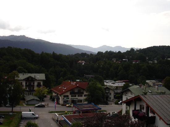 Alpenhotel Fischer: View from balcony 1