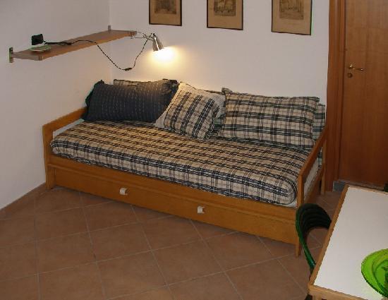 Le Piche del Biancomangiare: divano-letto