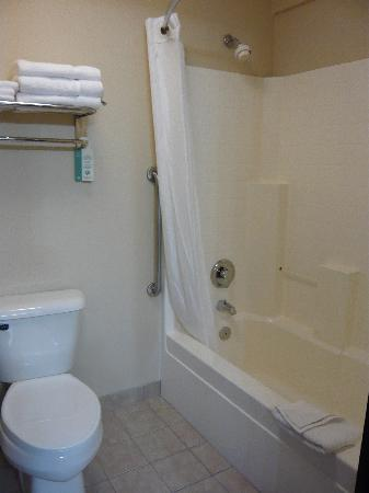 Comfort Inn Portland: Bathroom