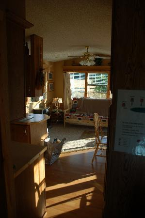 Ovenell's Heritage Inn: kitchen/dining area/living (other side)