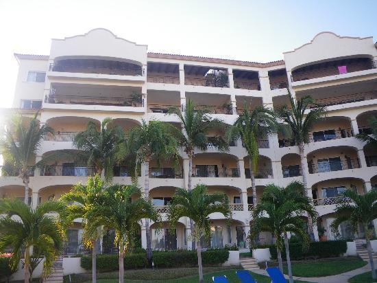 Las Mananitas: View from pool (5th floor on the left)