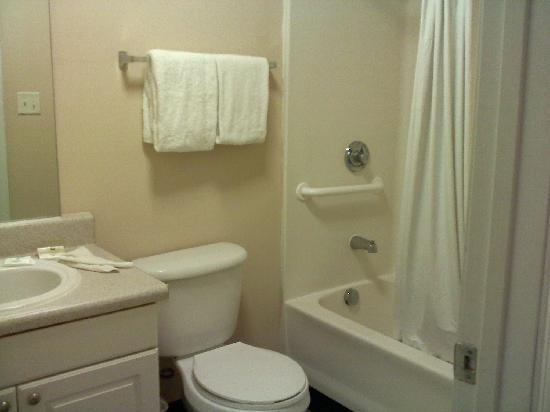 Savannah Suites Hampton: clean bathroom
