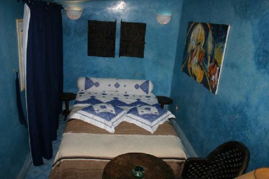 Riad Eowa: Dormitorio terraza