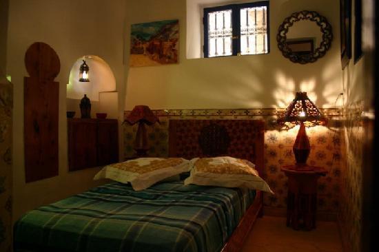 Riad Eowa: dormitorio piso bajo