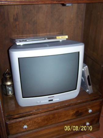 Finca Vista Bonita: la tele no se veía bien...Pero sí los canales alemanes, entre los cuales habían mas de 30 para a