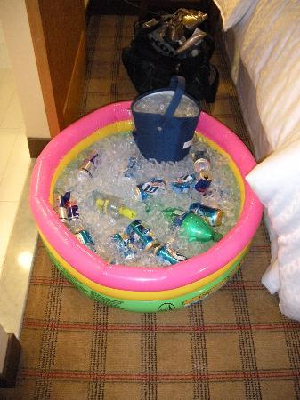 Four Points by Sheraton Midtown - Times Square: Very smart idea to bring this!!!! No tub or fridge