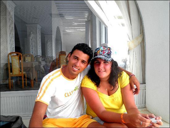 Hotel Les Quatre Saisons: Sayef et moi