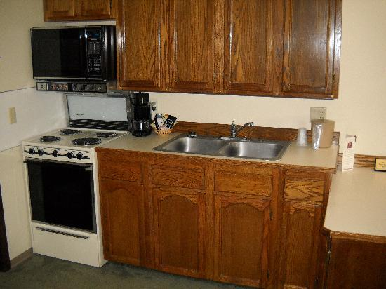 Regency Fairbanks Hotel: Full Kitchen in Room