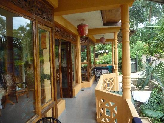 Sita's Heaven: la terrasse