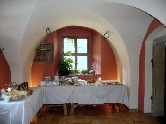 Schloss Schänke Hotel: breakfast buffet