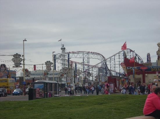 By The Seaside: Blackpool Pleasure Beach.