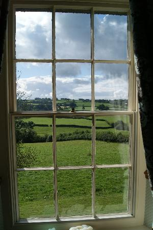 Beera Farmhouse: View from the bedroom window